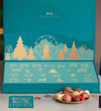 Aldi Specially Selected Exquisite Belgian Pop Up Advent Calendar