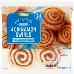 Asda Bake at Home Cinnamon Swirl