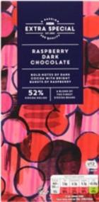 Asda Extra Special Raspberry Indulgence Chocolate Bar