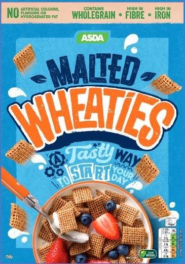 Asda Malted Wheaties, Weetabix