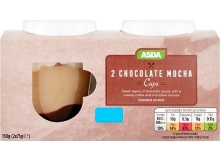 Asda Mocha Coffee Cup