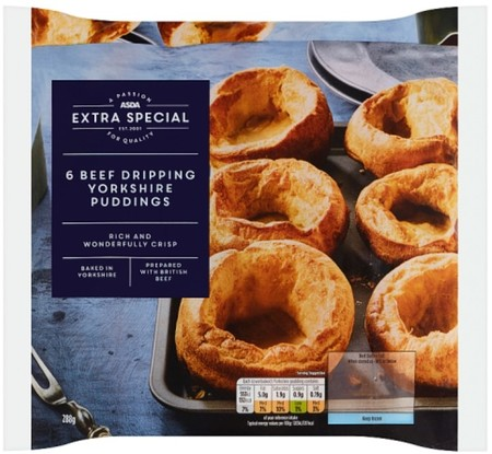 Asda Extra Special Beef Dripping Rustic Yorkshire Puddings