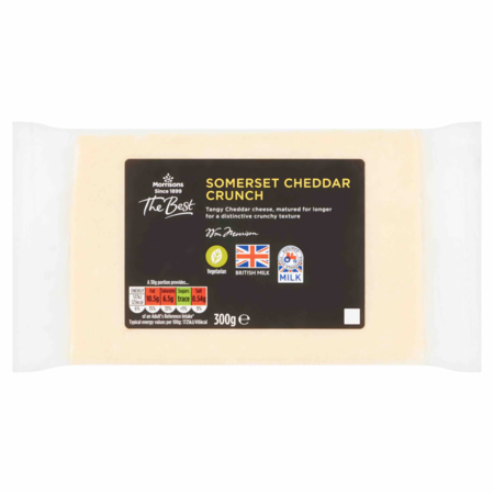 Morrisons The Best Somerset Crunch Cheddar