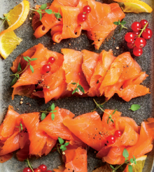 Aldi Specially Selected Yorkshire Peat Smoked Salmon