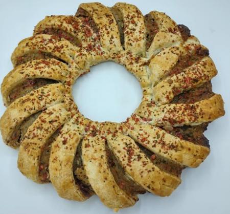 Asda Plant Based Vegan Cranberry & Chestnut Wreath, Addo Food Group