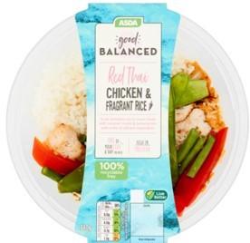 Asda Good & Balanced Red Thai Chicken Curry