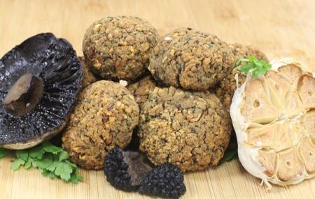 Asda Extra Special Free From Mushroom, Roasted Garlic & Truffle Stuffing, Delicious Alchemy
