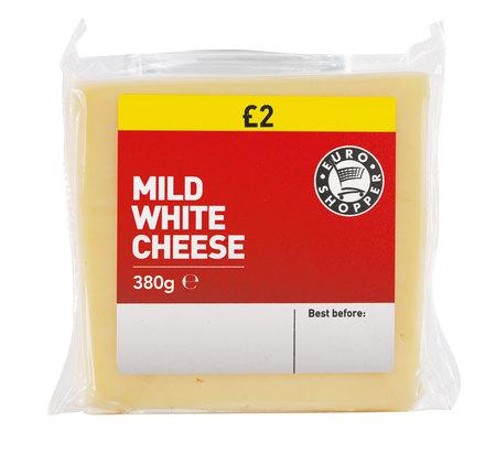 Booker Euro Shopper Mild White Cheese