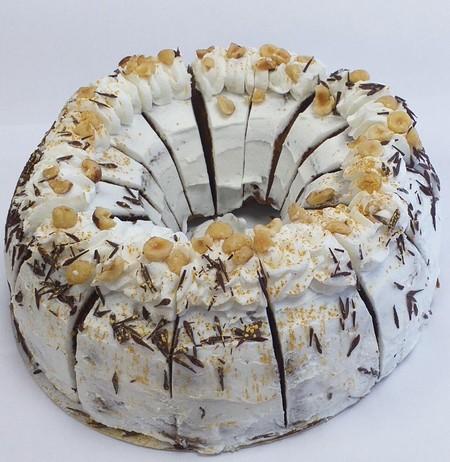 Costa Salted Caramel, Chocolate and Hazelnut Marble Bundt Cake, Baker & Baker
