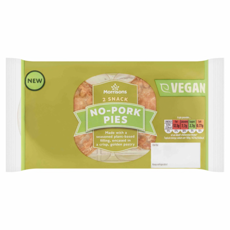 Morrisons V Taste Snack No Pork Pie