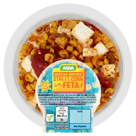 Asda Mexican Inspired Street Corn with Feta, Cranswick Continental Foods