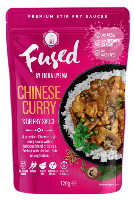 Fused By Fiona Uyema Chinese Curry Stir Fry Sauce