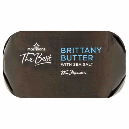 Morrisons The Best Brittany Butter with Sea Salt