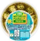 Asda Mozzarella Pearls with Pesto
