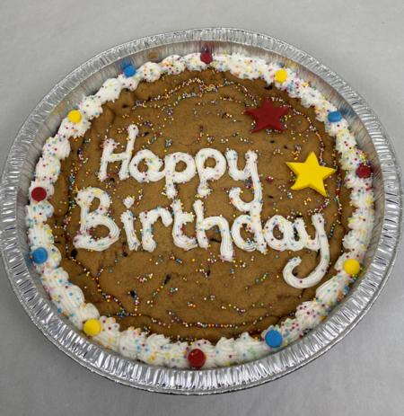 Asda Happy Birthday Celebration Cookie, Just Love Food Company