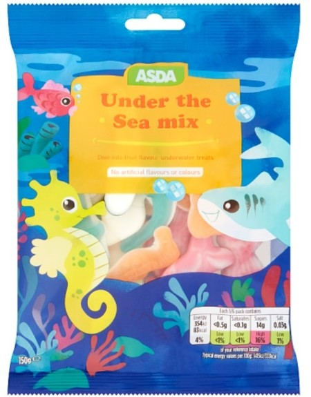 Asda Under the Sea Mix