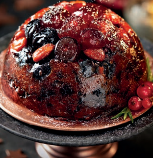 Aldi Specially Selected Champagne Christmas Pudding