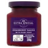 Asda Extra Special Cranberry Sauce with Ruby Port