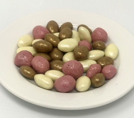 Asda Extra Special Ruby & Pearl Chocolate Almonds & Raspberry Mix, AIB Foods