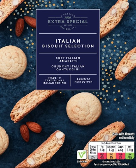Asda Extra Special Italian Biscuit Selection