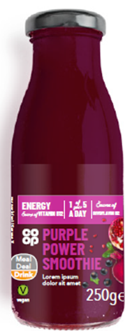 Co-op Purple Power Smoothie