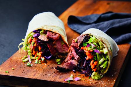 Morrisons Market Kitchen Steak Wrap