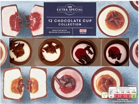 Asda Extra Special 12 Chocolate Cup Selection