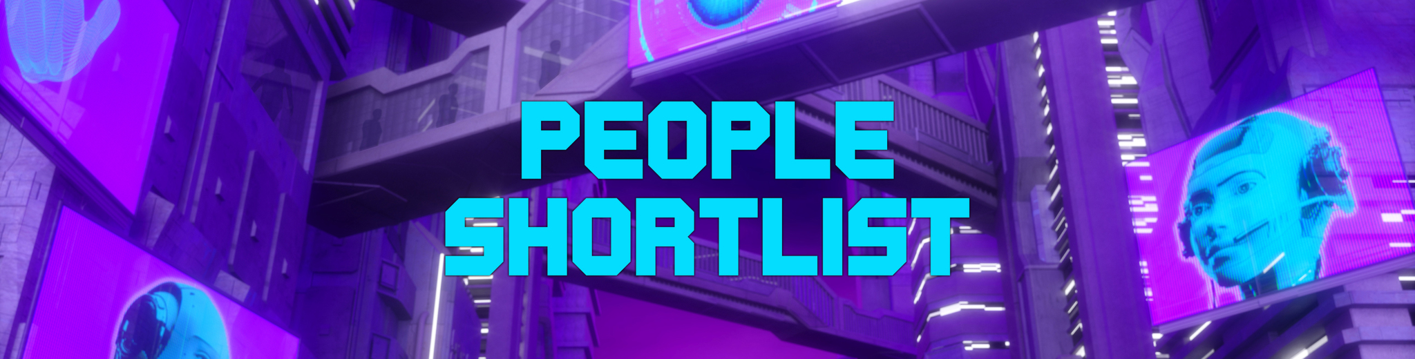 AV Awards header - people shortlist
