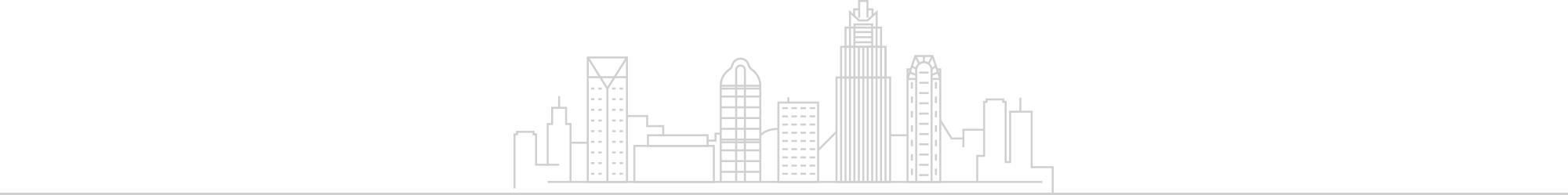 keyline of city