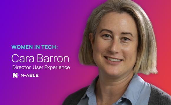 Industry Blog: Women in Tech - Cara Barron of N-able