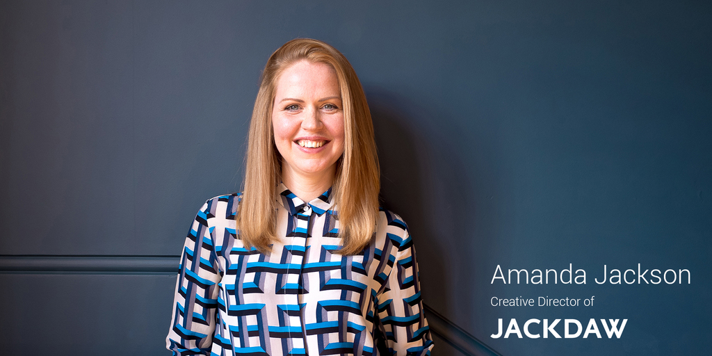 10 questions with Amanda Jackson - Creative Director of Jackdaw Design