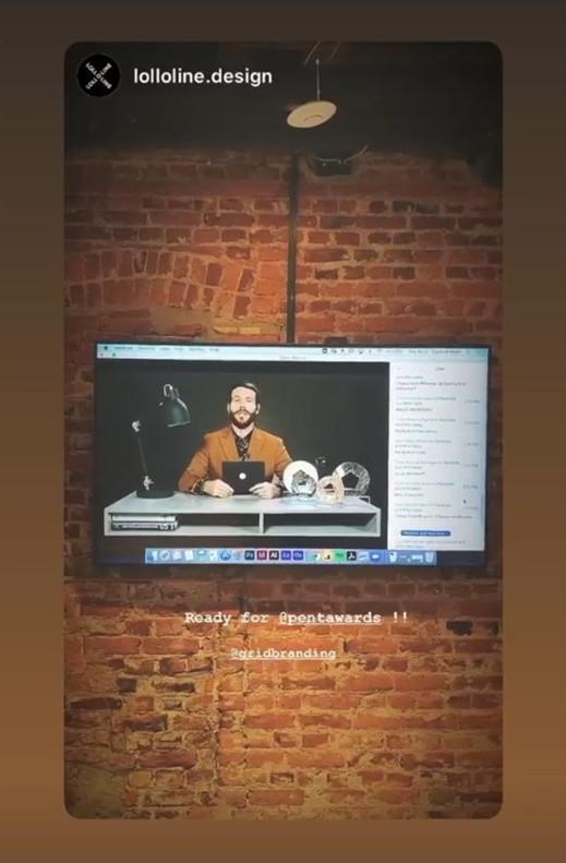 Adam presenting