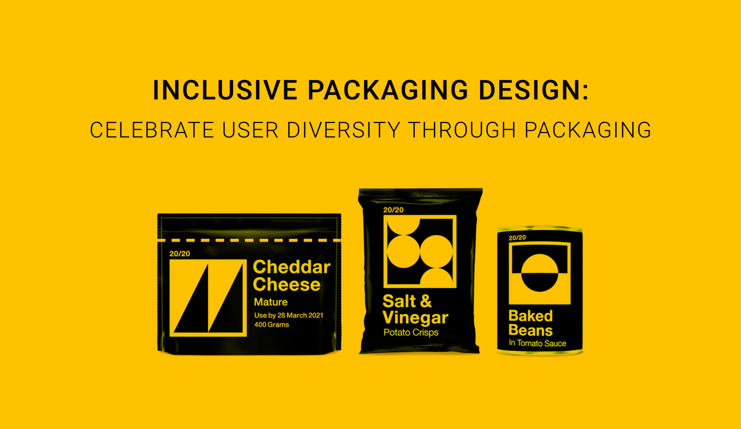 Inclusive Design: 5 packaging designs that celebrate user diversity