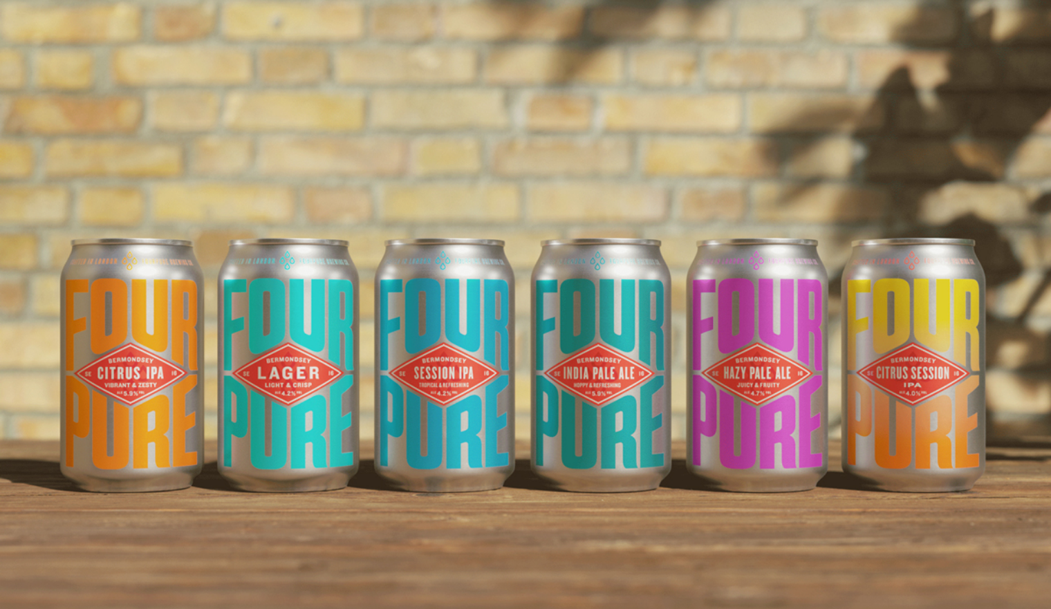Fourpure rebrand takes this craft beer back to its roots