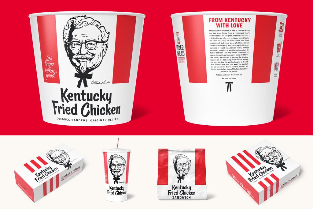 Wieden+Kennedy's rebrand for Kentucky Fried Chicken