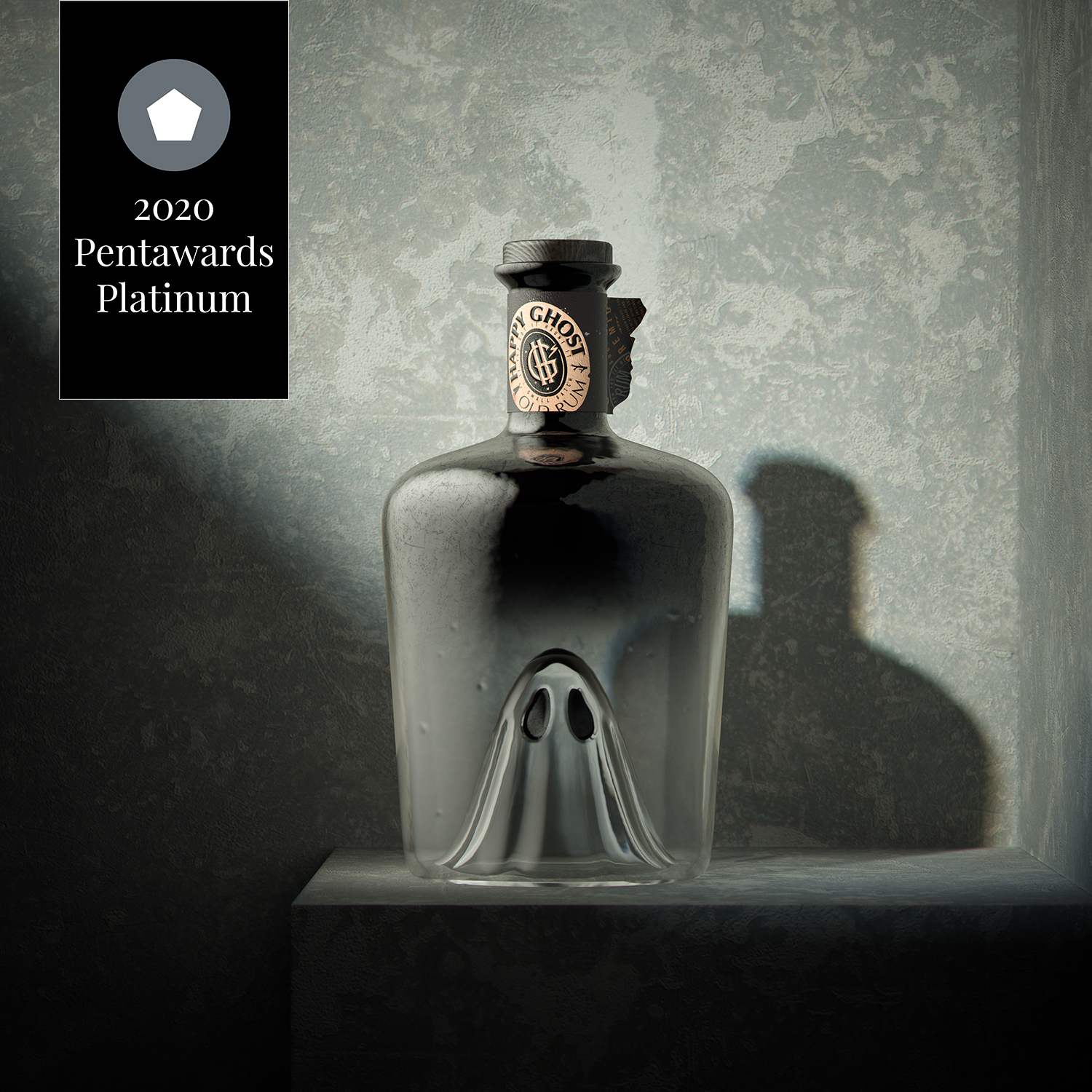 BEVERAGES PROFESSIONAL CONCEPT PLATINUM, Happy Ghost by Pavla Chuykina, Russia Federation
