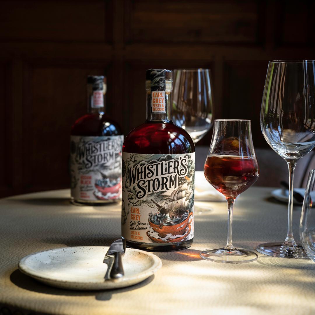 Whistler's Storm Tea Liqueur
