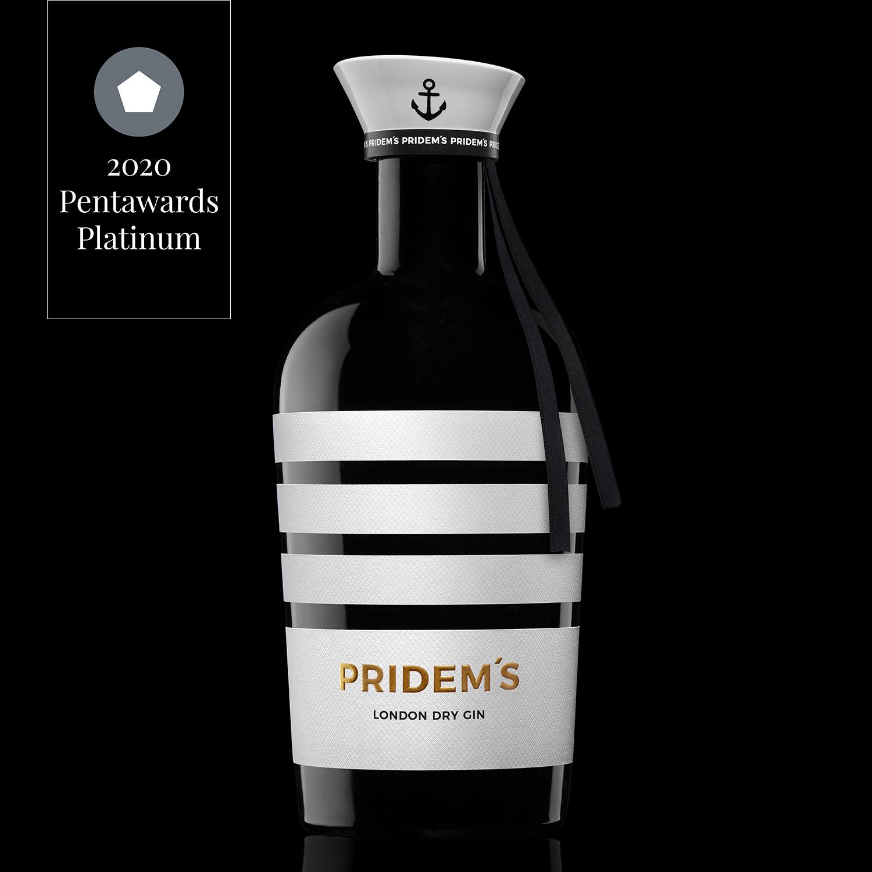BEVERAGES PLATINUM, Pridem's Gin by Enpedra Estudio, Spain