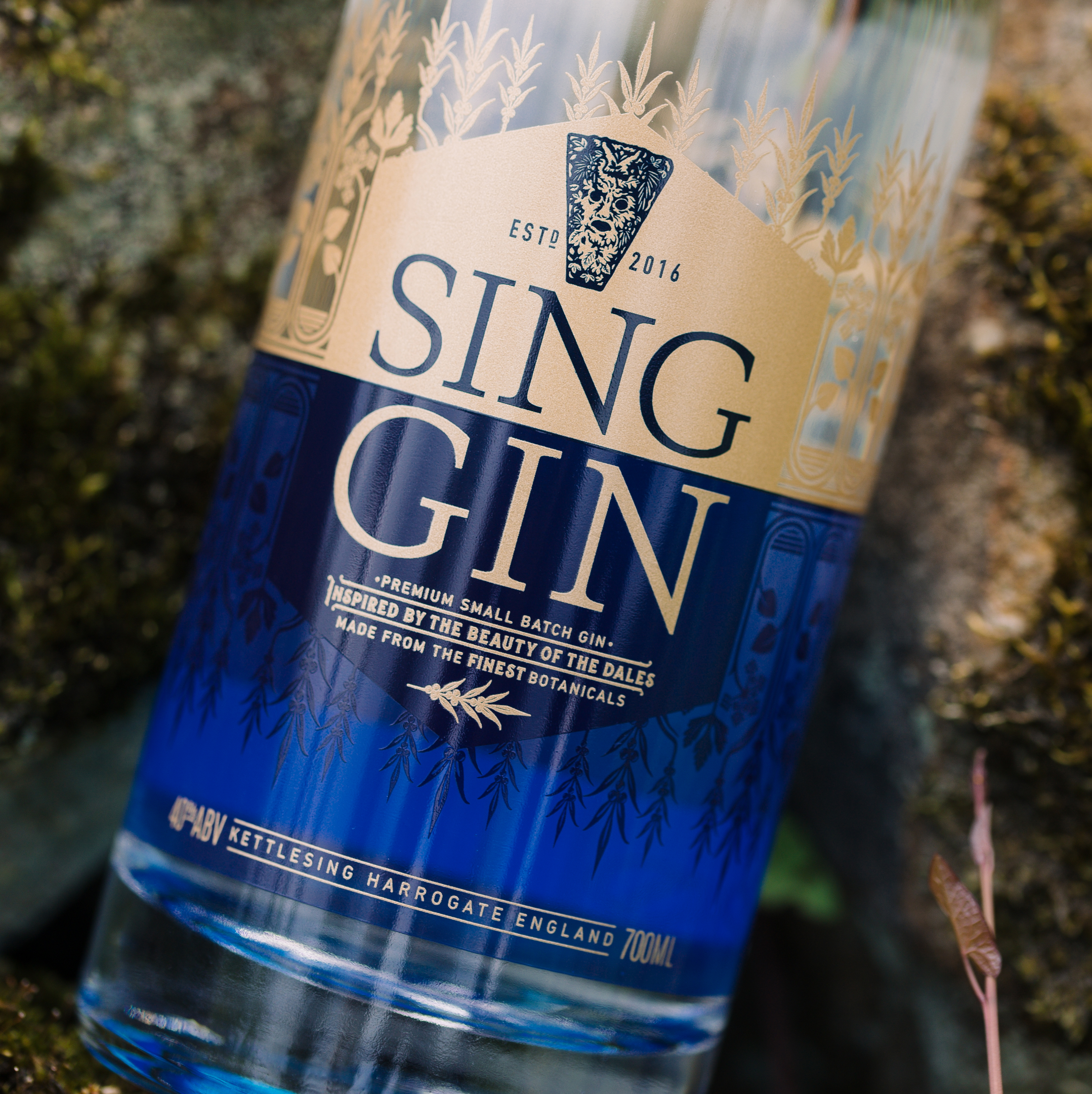 SING GIN  'INSPIRED BY THE BEAUTY OF THE DALES'