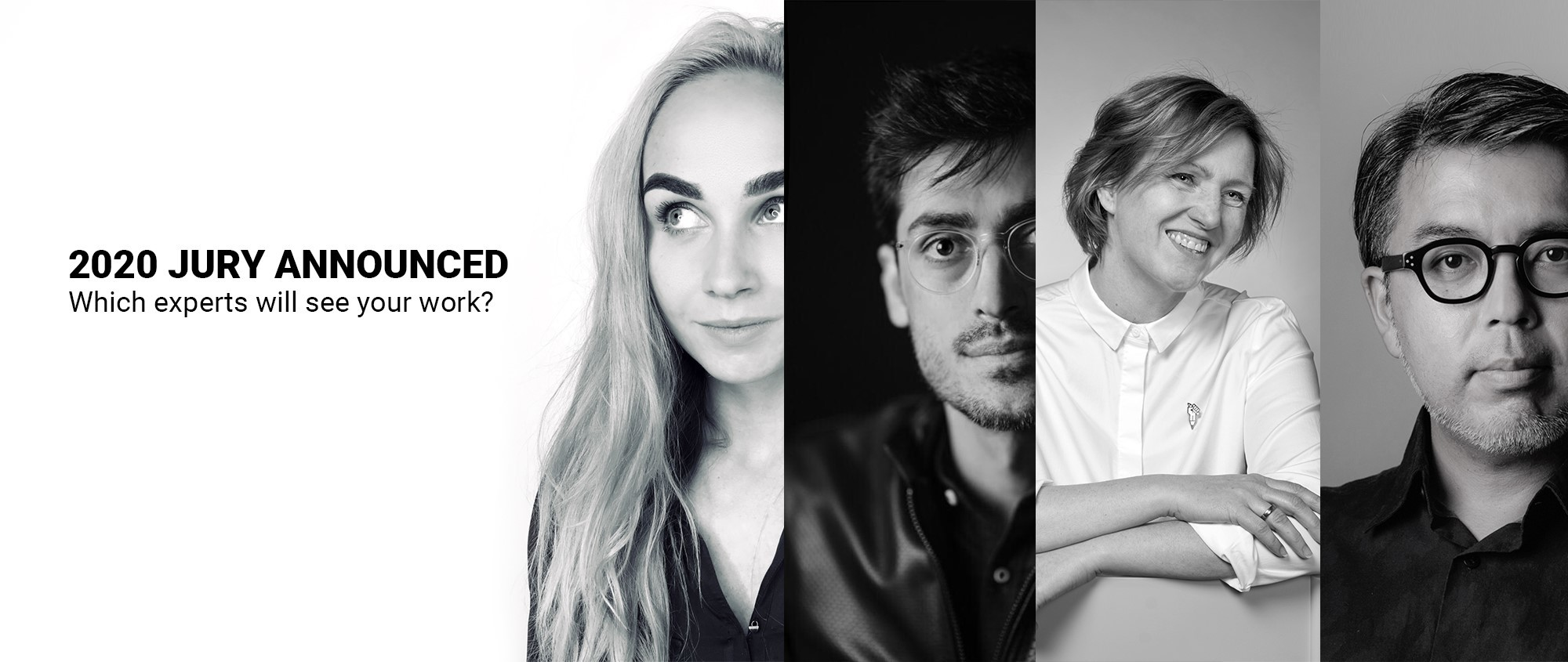 2020 Jury Announced: Which experts will see your work?
