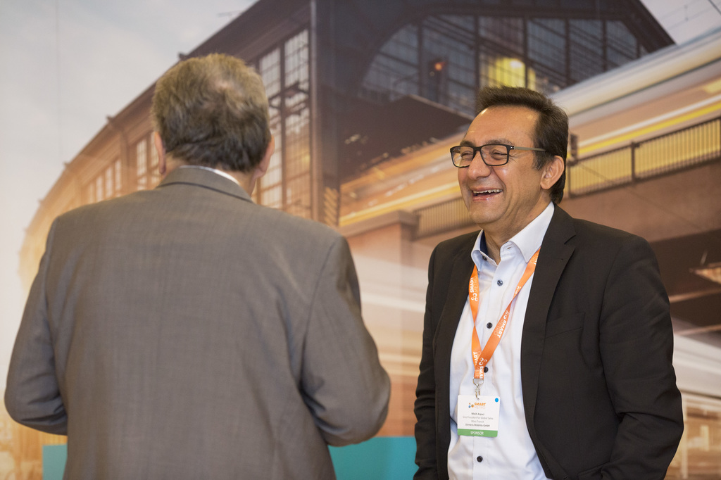 SmartMetro and CBTC World Congress attendees