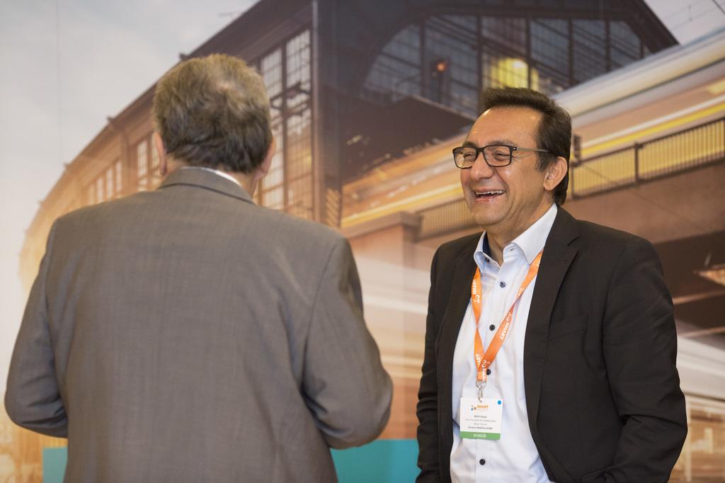 SmartMetro and CBTC World Congress attendees