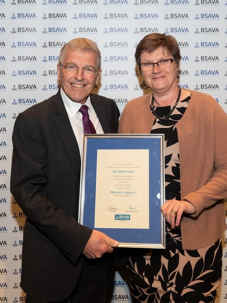 Outstanding individuals receive prestigious BSAVA Awards