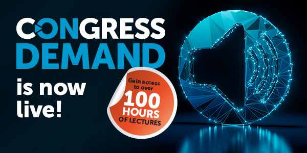 Congress on Demand page banner (with live now & link)